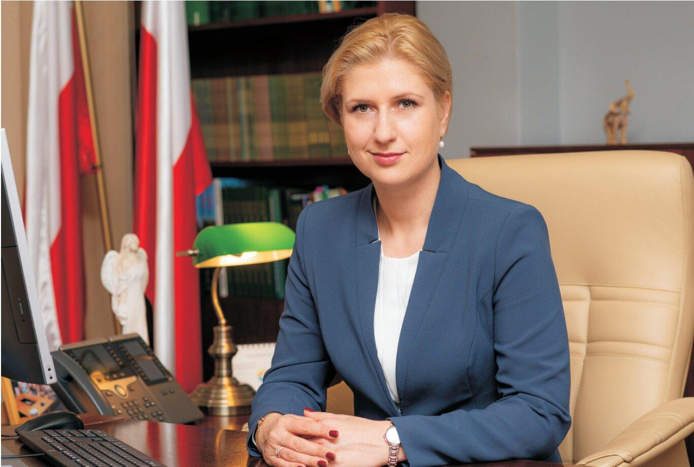 Prezes KRUS Aleksandara Hadzik